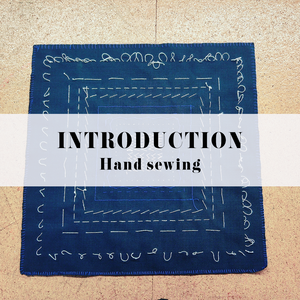 INTRODUCTION TO HAND SEWING (NEEDLEPOINTS)