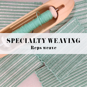 SPECIALTY WEAVING: REP WEAVE