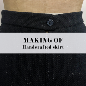 MAKING OF A HANDCRAFTED SKIRT