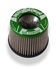 Blowsion Tornado Air Filter Flame Arrestor - GREEN- 2.5 Inches Tall