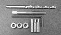 JP ENGINEERING HEADPIPE SCREW REPAIR KIT - FOR OVERSIZE PIPES STANDARD SIZE REPLACEMENT SCREWS - Yamaha B Pipe for Superjet and Wave Blasters, Kawasaki 750SX, 650SX, X2, 800 SXR and other applications