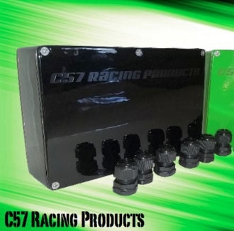 C57 RACING PRODUCTS ALUMINUM ELECTRICAL BOX - KAWASAKI SXR