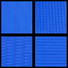 HYDRO-TURF 40X62 SHEET - MATERIAL CUT GROOVE - ROYAL BLUE