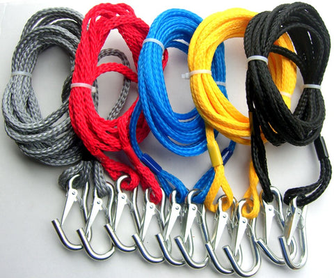 DELUXE TOW ROPE WITH METAL CLIPS 15' FEET - For Jet Boats