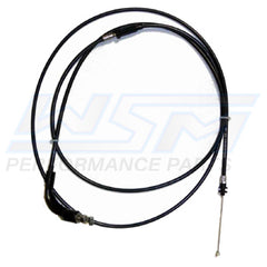 WSM 002-035 Kawasaki Throttle Cable - Fit's 1991-1995 Kawasaki TS 650 - Replaces OEM #: 54012-3733