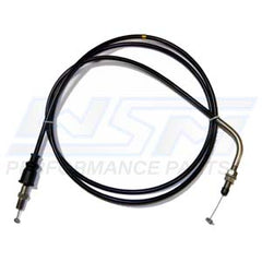 WSM 002-028 Kawasaki Throttle Cable - Fit's 1991-1993 Kawasaki 650 SX Jet Ski - Replaces OEM # 54012-3731, 54012-3727