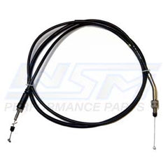 WSM 002-032-01 Kawasaki Throttle Cable - Fit's 1996-2002 Kawasaki 750 SXI/SXI PRO - Replaces OEM # 54012-3748, 54012-3753