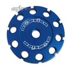 Blowion Mikuni SBN BN Throttle Cable Drum Billet Aluminum Throttle Drum/Wheel for maximum throttle adjustments 01-02-523-BLUE
