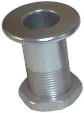 "HOT PRODUCTS 1"" INCH EXTENDED - YAMAHA ALUMINUM NOSE BUSHING/BOW-EYE - SILVER"