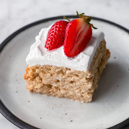 Image for Dairy-Free Tres Leches Cake With Strawberries