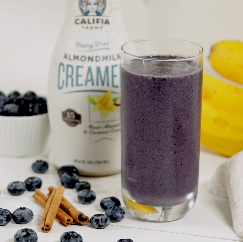 Cinnamon-Blueberry Smoothie