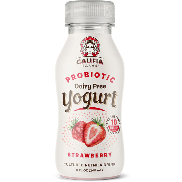 Probiotic Dairy Free Yogurt Drink Strawberry