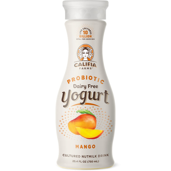 Probiotic Dairy Free Yogurt Drink Mango
