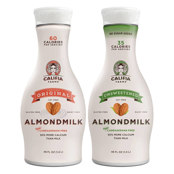 Original & Unsweetened Almondmilk