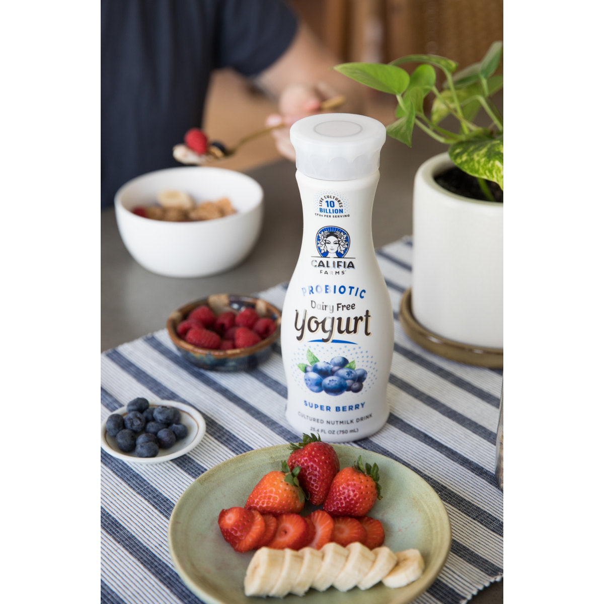 Probiotic Dairy Free Yogurt Drink Super Berry