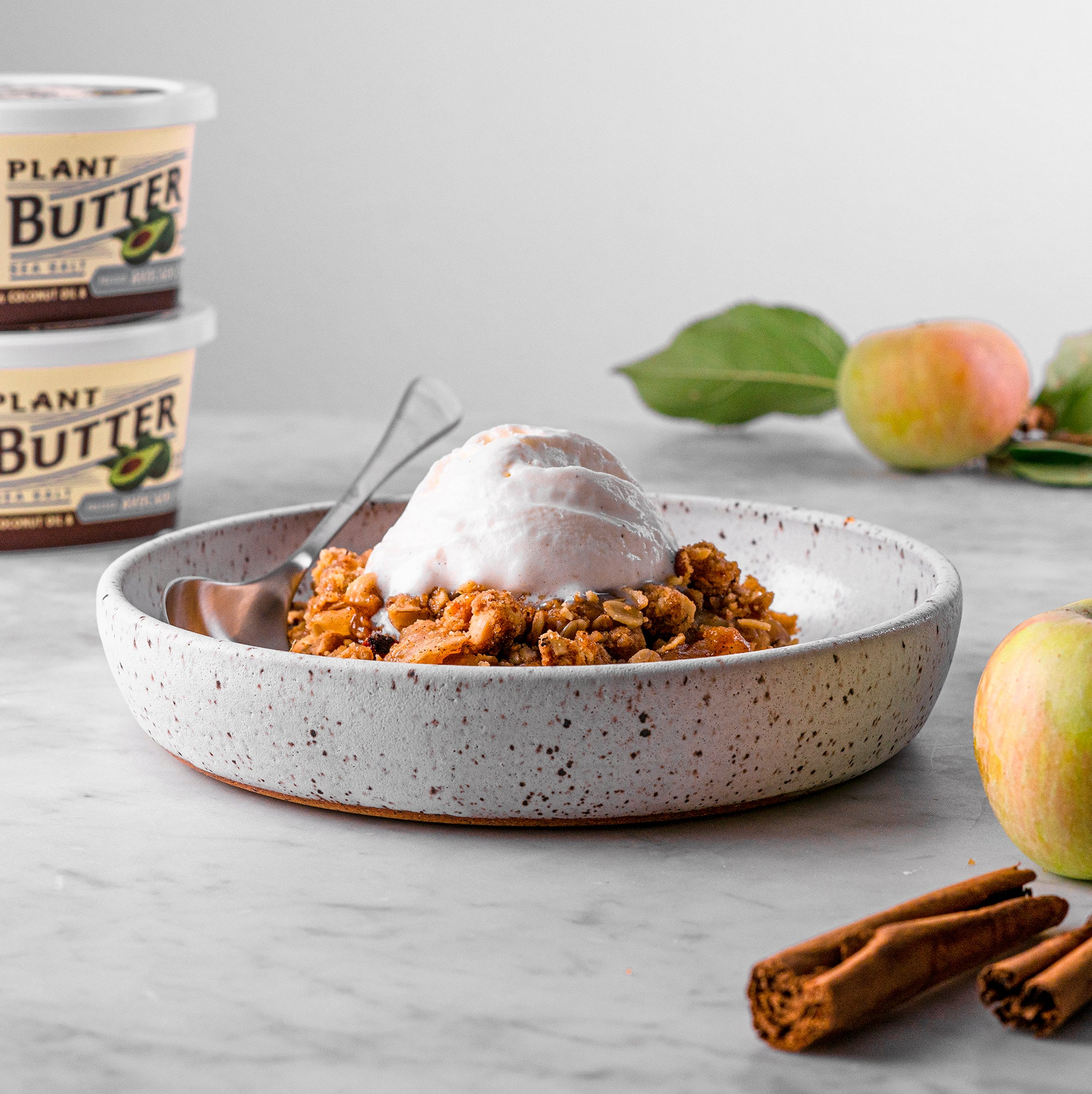 Image for Apple Hazelnut Crisp