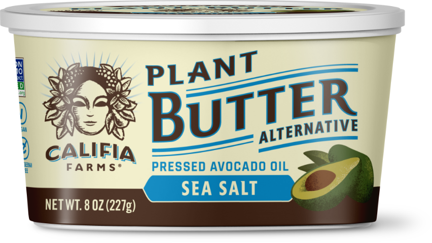 Plant Butter - Sea Salt with Avocado Oil