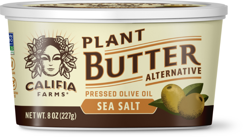 Plant Butter - Sea Salt with Olive Oil