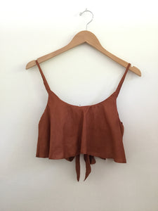 LAHAINA CROP TOP - Canyon Linen