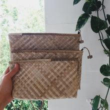 Lauhala Zipper Clutch - 3 sizes