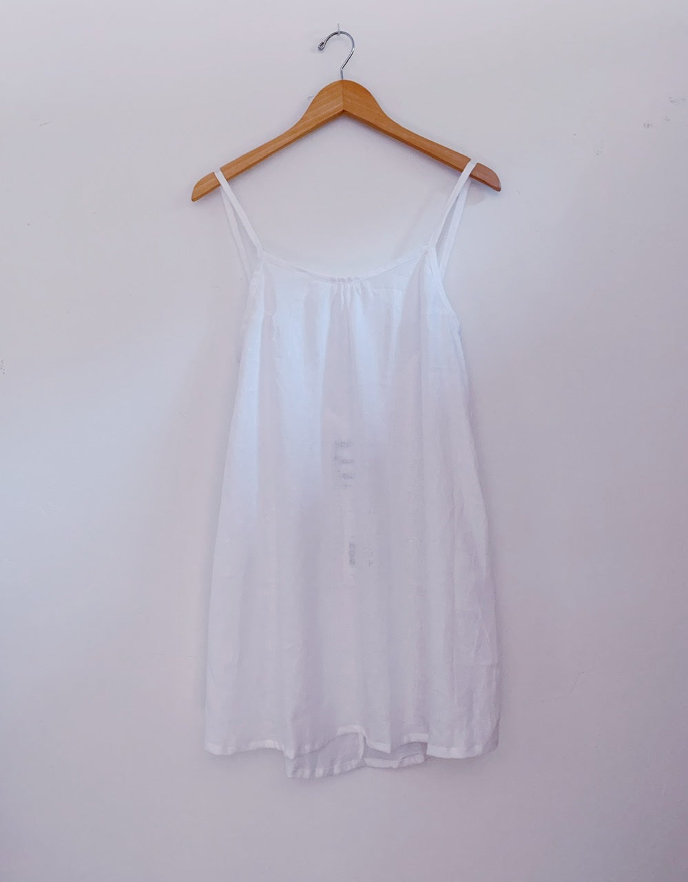KAIONE SHORT DRESS - White Linen