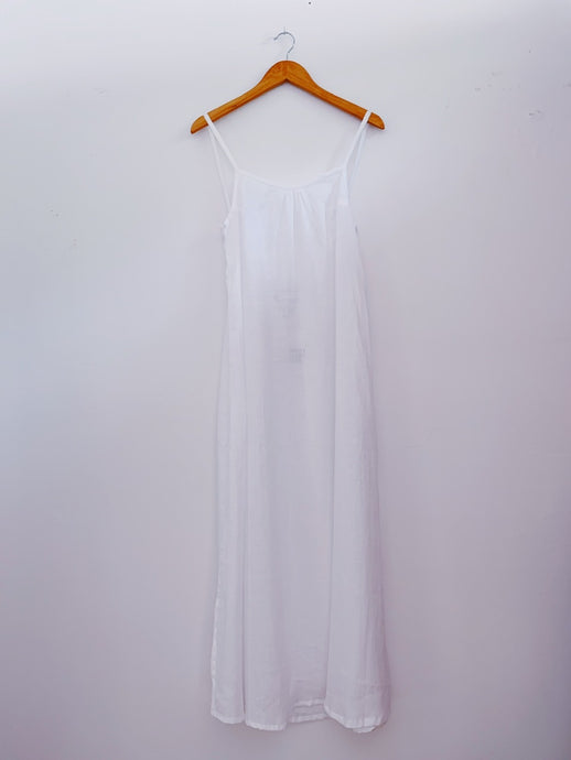 KAIONE DRESS - White Linen
