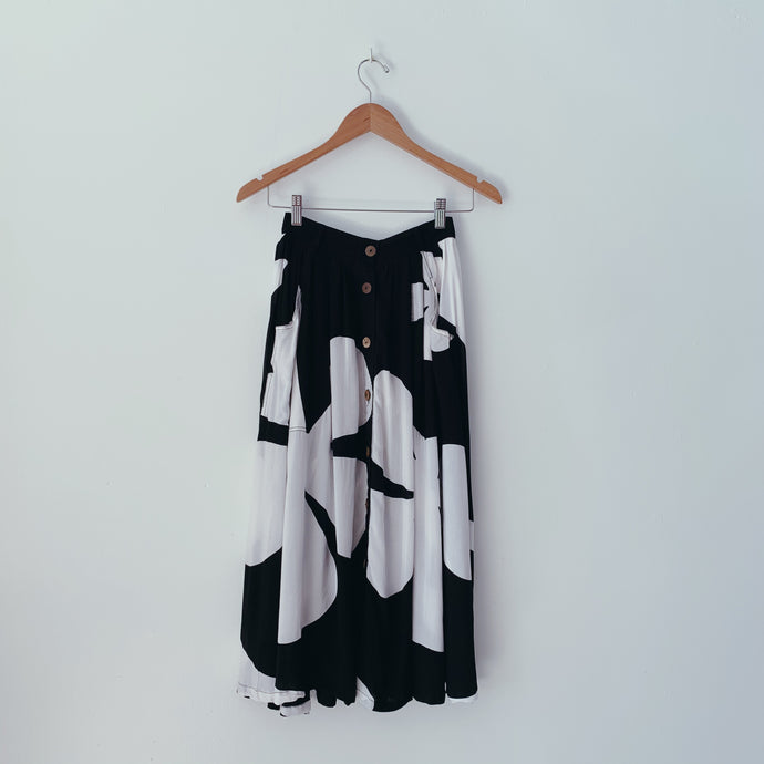 HAPA SKIRT - Pareo Black