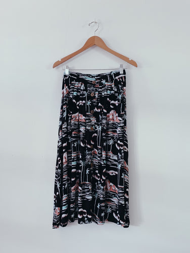 HAPA SKIRT - Waikiki Black