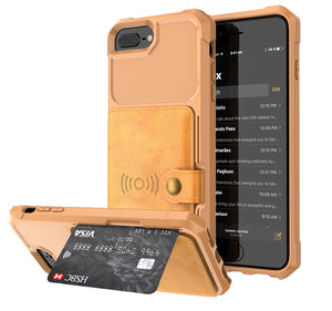 2 in 1 Rugged Wallet Case (5 colors)