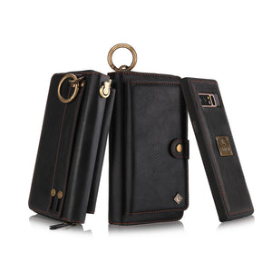 2 in 1 Zipper Wallet Case (4 colors)