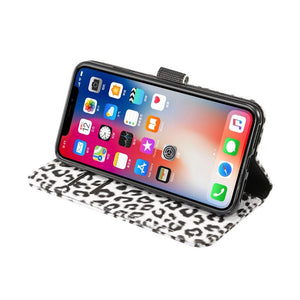 2 in 1 Leopard Wallet Flip Case (3 colors)