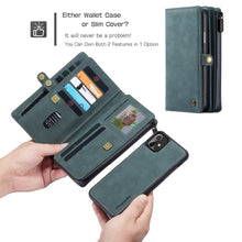 2 in 1 Detachable Wallet Case (4 colors)