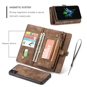 2 in 1 Detachable Flip Cover Case (4 colors)