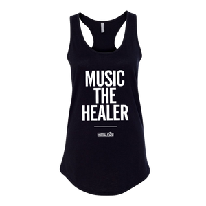 WOMENS Music is the Healer Tank