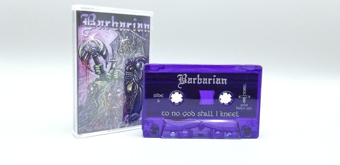 BARBARIAN- To No God Shall I Kneel