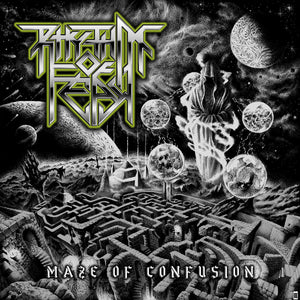 "RHYTHM OF FEAR - ""MAZE OF CONFUSION"" CASSETTE"