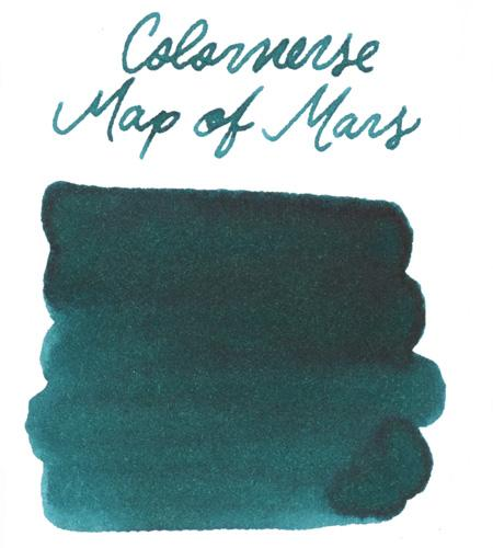 Colorverse Map of Mars