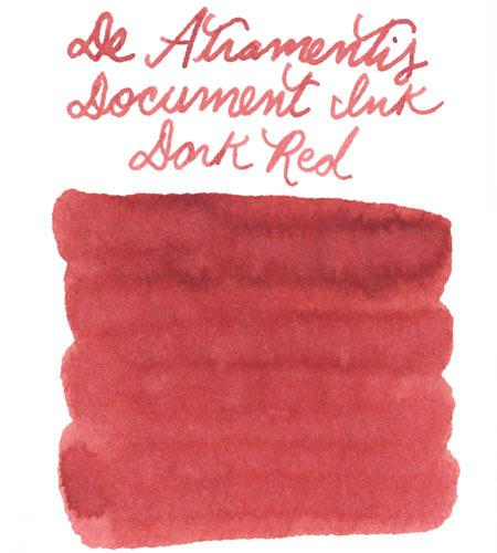 De Atramentis Document Ink Dark Red