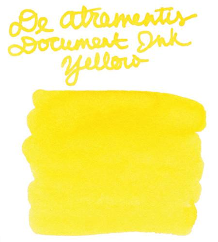 De Atramentis Document Ink Yellow