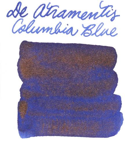 De Atramentis Pearlescent Columbia Blue-Copper