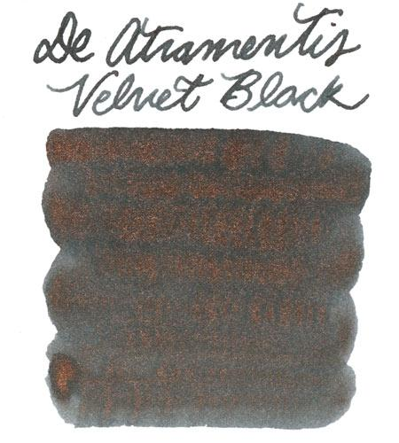 De Atramentis Pearlescent Velvet Black-Copper