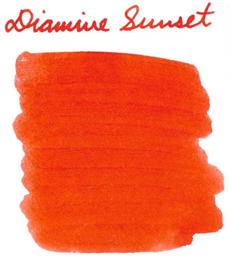 Diamine Sunset