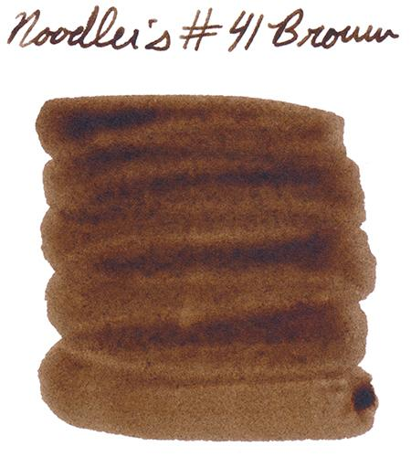 Noodler's 41 Brown