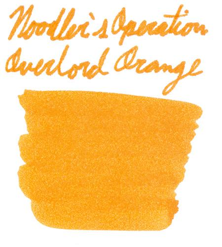 Noodler's Operation Overlord Orange