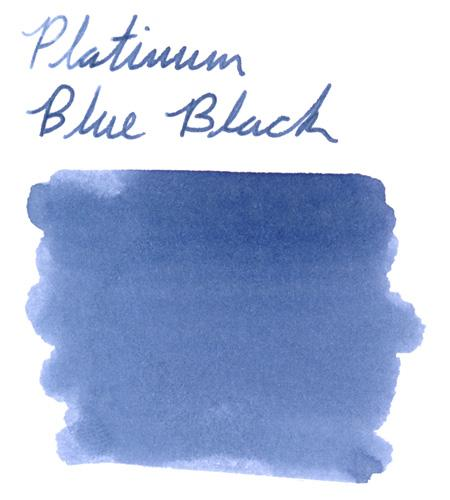 Platinum Blue Black
