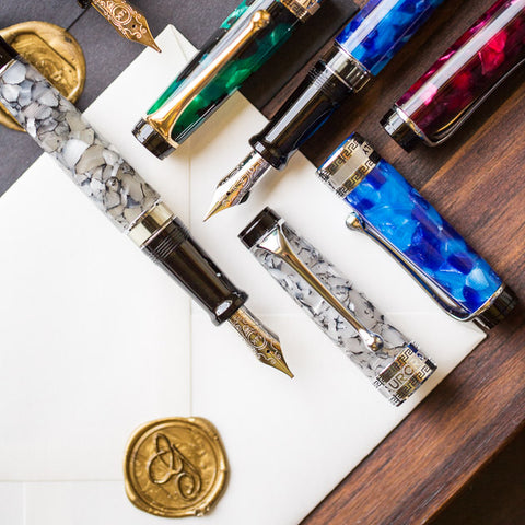 Aurora Optima Fountain Pens