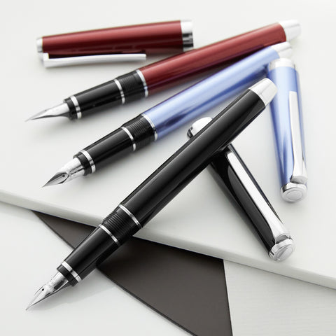 Pilot Metal Falcon Fountain Pens