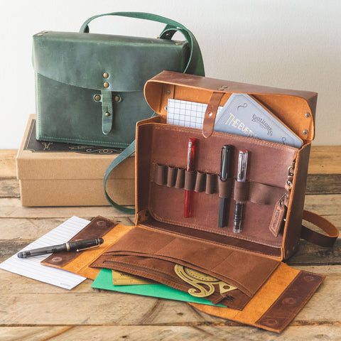 Galen Leather Writer's Medic Bag