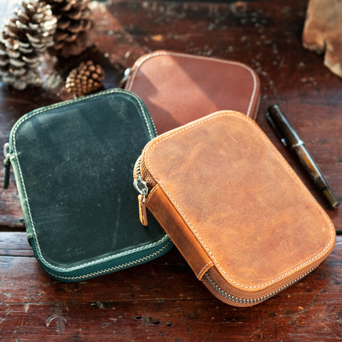Galen Leather Pen Cases