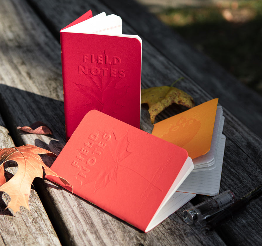 Field Notes Autumn Trilogy Notebooks